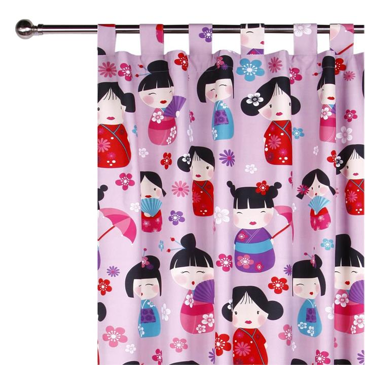 China Doll Glow in the Dark Curtain