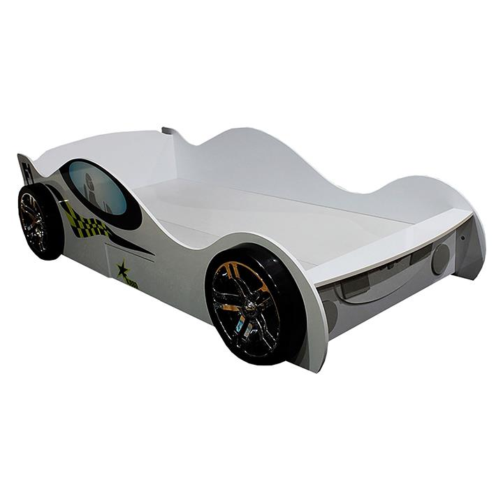 Kids Turbo Racing Car Bed