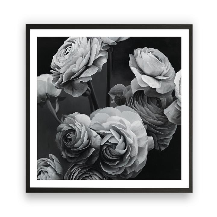 Bouquet Square Framed Art Print