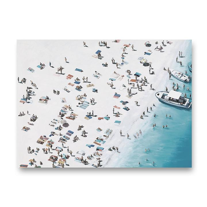 Day at The Beach Canvas Art