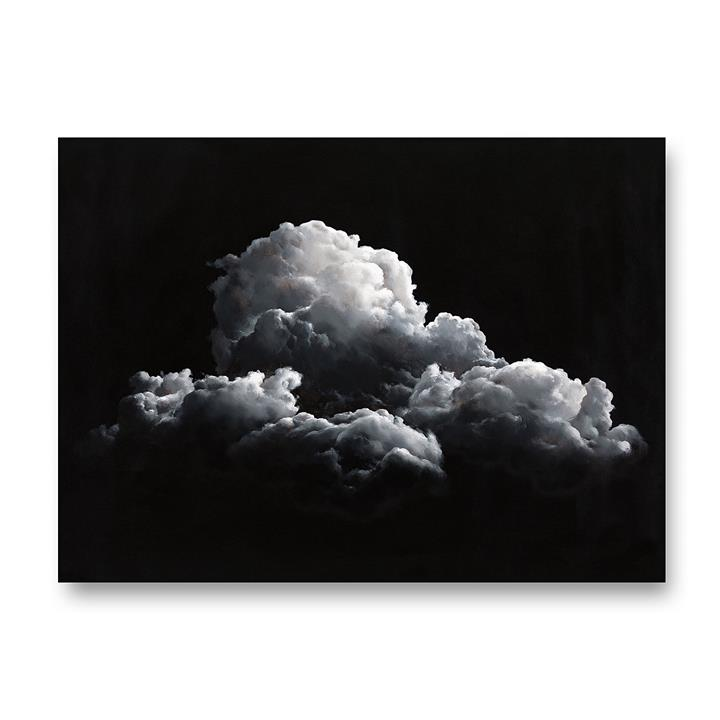 Clouds at Night Canvas Art