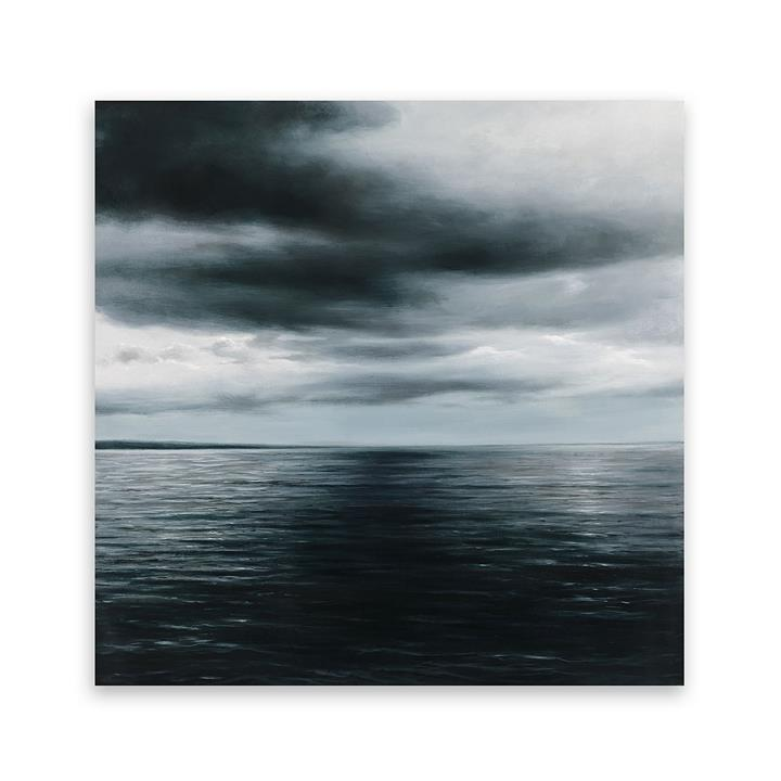 Seascape Square Canvas Art