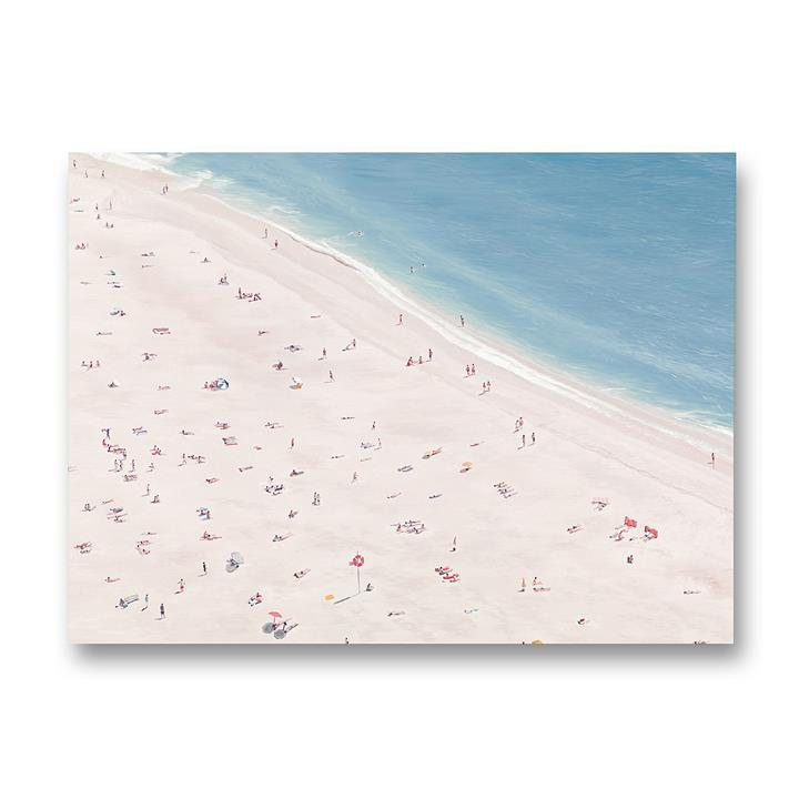 Sunbathers Canvas Art