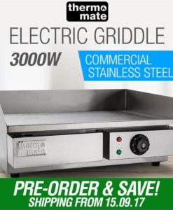 3000W Electric Griddle Grill Cooktop