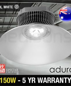 High Bay LED Light - 150W with 120 Degree Cover