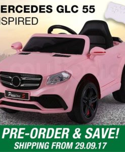 Mercedes Inspired Pink Kids Ride On Car - GLC 55 - PRE-ORDER
