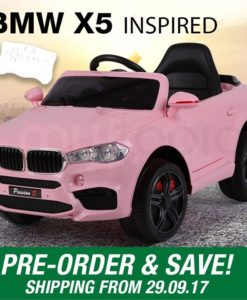 BMW X5 Inspired Pink Kids Ride On Car - PRE-ORDER