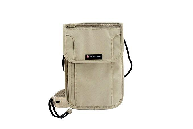 Victorinox Deluxe Concealed Security Pouch RFID Protection - Nude