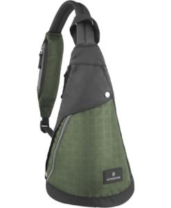 Victorinox Dual-Compartment Monosling - Green