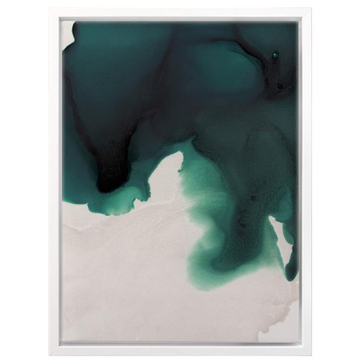 Swell Emerald | Canvas Print