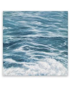 Ocean Swell Square Canvas Art