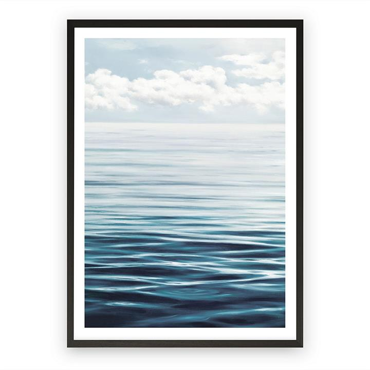 Ocean Horizon Framed Art Print