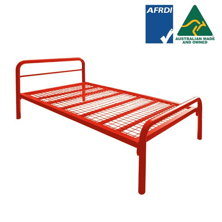 Tubeco Budget Australian Made Commercial Grade Metal Bed