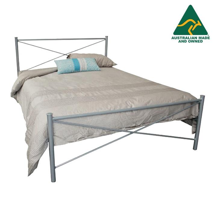 Tubeco Paris Australian Made Metal Bed