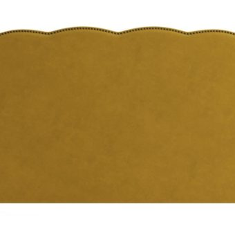 Clover King Size Bed Head Yellow Gold