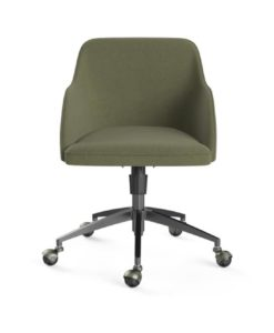 Gabe Office Chair Black Periodot Olive