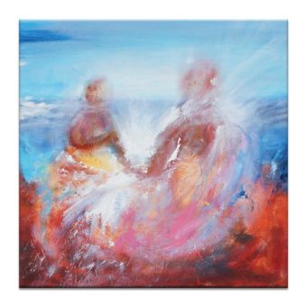 Lovers   Oliver Ayem   Canvas or Print