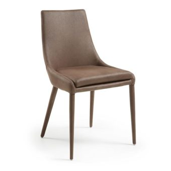 Cole Dining Chair | Dark Brown