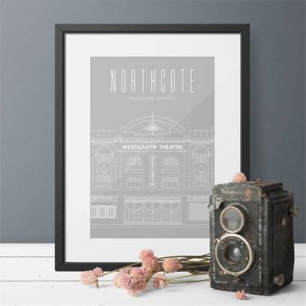 The Westgarth Theatre - Northcote   Limited Edition Print