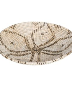 Coil Wall Basket Large Beige Matt Blatt