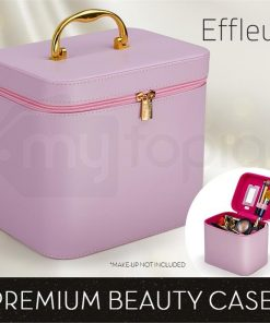 Pink Beauty MakeUp Case Cosmetics