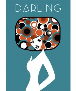 Darling Poster   Custom design for Charlotte and Josh   by Design by Mouse