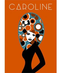 Caroline Poster   Custom designed for Charlotte and Josh   by Design by Mouse