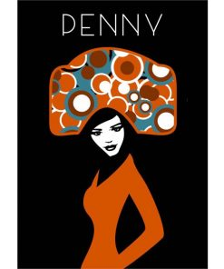 Penny Poster   Custom design for Charlotte and Josh   by Design by Mouse