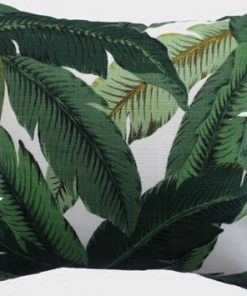 Jungle Leaves Outdoor   Indoor Cushion Cover 43cm