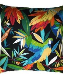 Wings of Night Outdoor / Indoor Cushion Cover  43cm