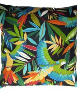 Wings of Night Outdoor Cushion  Cover   Extra large 63cm