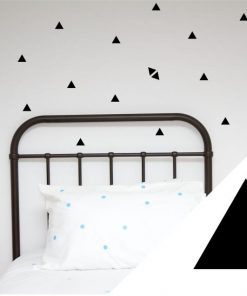 Small Triangle Removable Wall Stickers | Asst Colours
