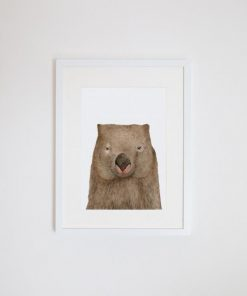 Winston the Wombat Giclee Print | by For Me By Dee