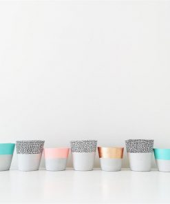 Concrete Candle Holder | Various Colours | by Coral and Herb
