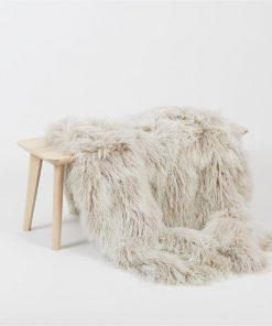 Nordic Pelt by Abode Living | Large | Stone