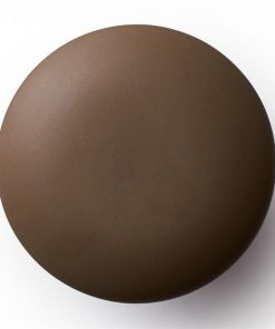 Anne Black Matte knobs and hooks   Brown   Various Sizes