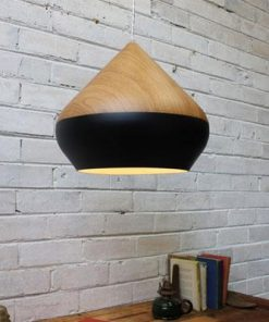 Stockholm Ceiling Light | Oak Wood and Metal