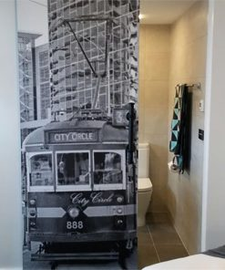 Melbourne City Circle Tram | Door Wrap/Wallpaper