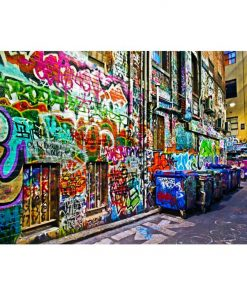 Melbourne Graffiti Laneway | Stretched Canvas/ Printed Panel