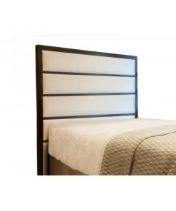 Kelvin Upholstered Bed Head by Bedworks | Queen