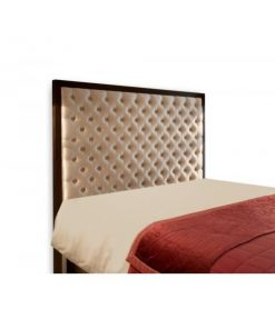 Chanel Upholstered Bed Head by Bedworks | King
