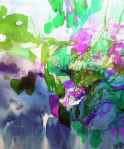 John Martono | Lily Pond | Canvas | Various Sizes by Tusk Gallery