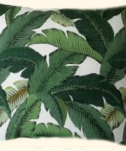 Jungle Leaves Outdoor   Indoor Cushion Cover 63cm