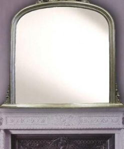 Domed Over Mantle Mirror | Rsutica