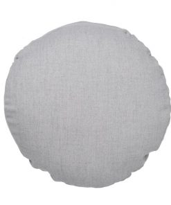 Cashmere Silverdust | Round Cushion by 3Square