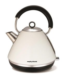 Morphy Richards Traditional Pyramid Kettle | White