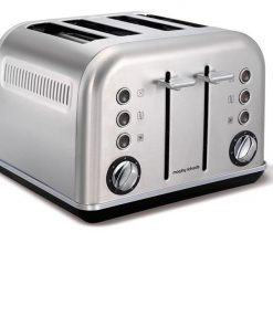 Morphy Richards Accents 4 Slice Toaster | Brushed Stainless Steel