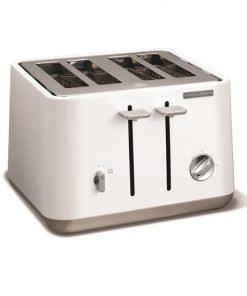 Morphy Richards Aspect 4 Slice Toaster | White