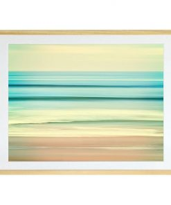 Pacific Lines Framed Print