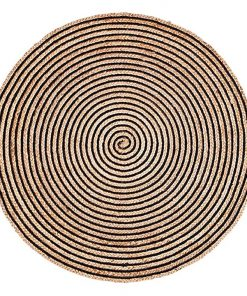 Orchid Round Jute Rug
